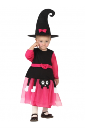 Heks baby kostume 300x450 - Hekse kostume til baby