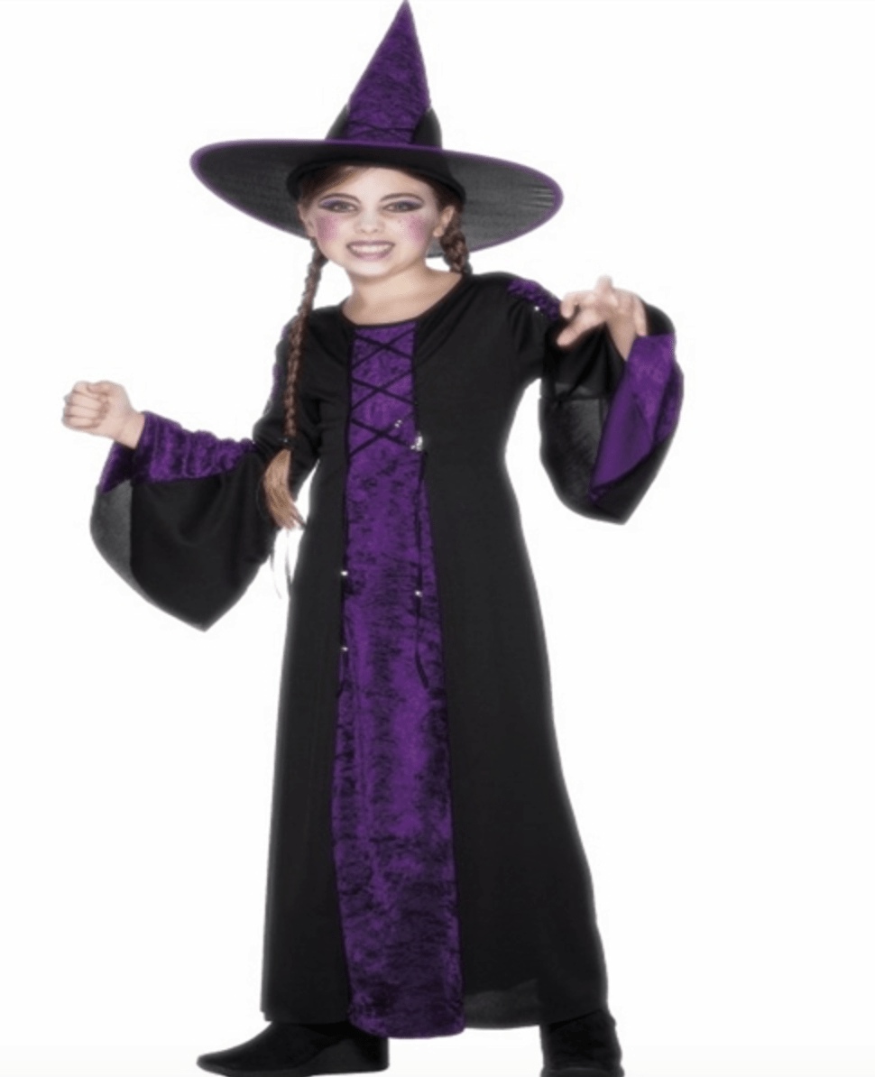 Skærmbillede 2017 07 16 kl. 15.30.23 - Hekse kostume til børn