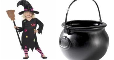 hekse kostume til børn, hekse kostume, heksekostume, heksekjole, hekse udklædning, halloween kostume, fastelavn kostume, kostume universet, kostumer til børn, kostumer til hele familien, heksetøj, fakta om hekse