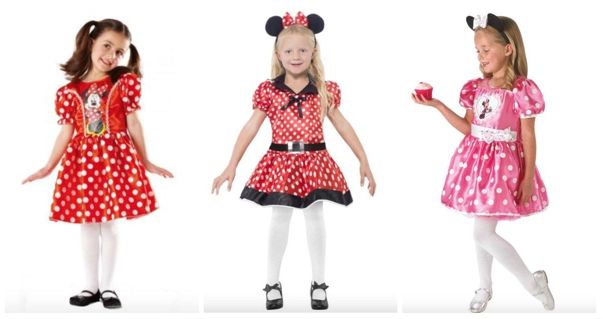 6b1193d37abd Minnie Mouse kostume til børn - KostumeUniverset