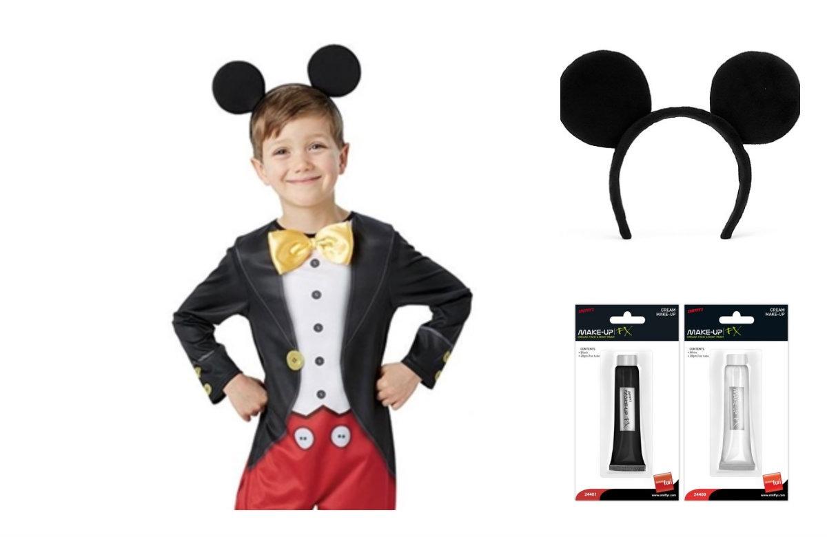 eeb966eaf9d7 Mickey Mouse kostume til børn - KostumeUniverset
