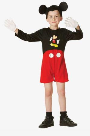 mickey mouse kostume til børn mickey mouse børnekostume mickey mouse udklædning til drenge 299x450 - Mickey Mouse kostume til børn