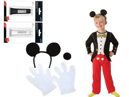 mickey mouse kostume tilbehør børnekostume mickey mouse ører