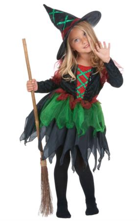 skovheks kostume til børn 282x450 - Hekse kostume til børn