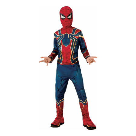 spiderman endgame kostume spiderman iron spider endgame børnekostume