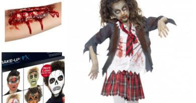 zombie kostume til børn