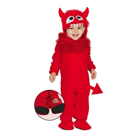 baby kostume djævel halloween babykostume