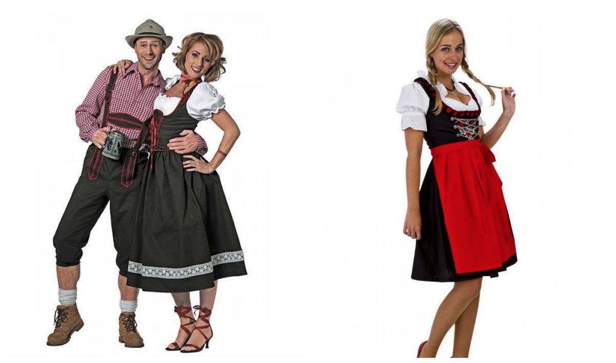 tyroler kostume kvinder