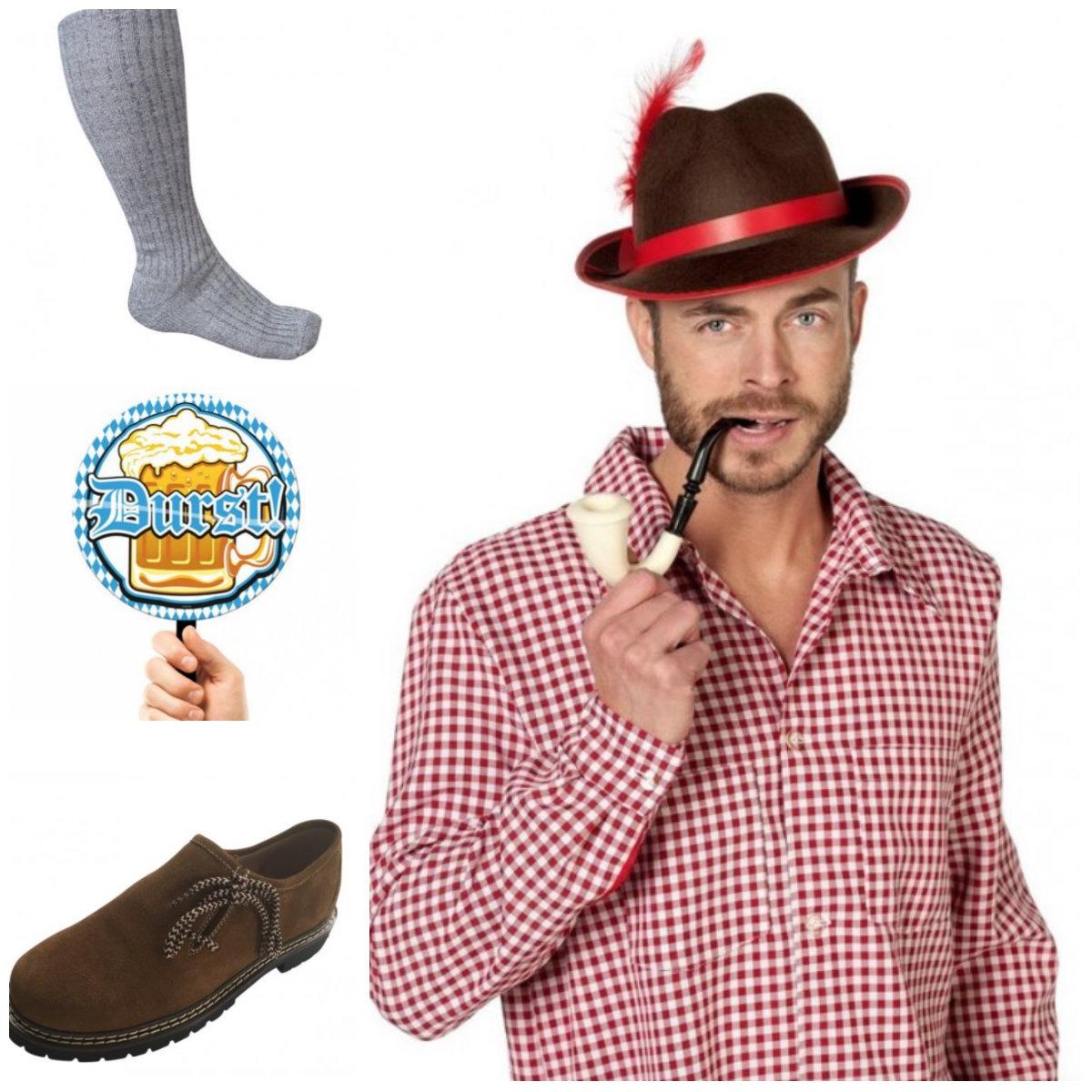 collage 11 - Oktoberfest kostume til mænd
