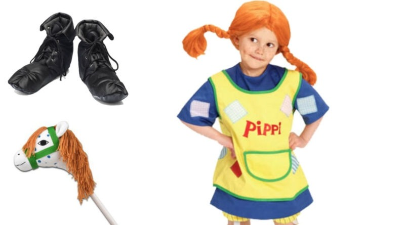 Pippi langstrømpe kostume til børn, pippi langstrømpe udklædning til børn, pippi udklædning, pippi kostumer, pippi tøj til børn, pippi børnekostumer, fakta om pippi langstrømpe, kostume universet, kostumer til børn, kostumer til hele familien, tilbehør til pippi langstrømpe kostume til børn