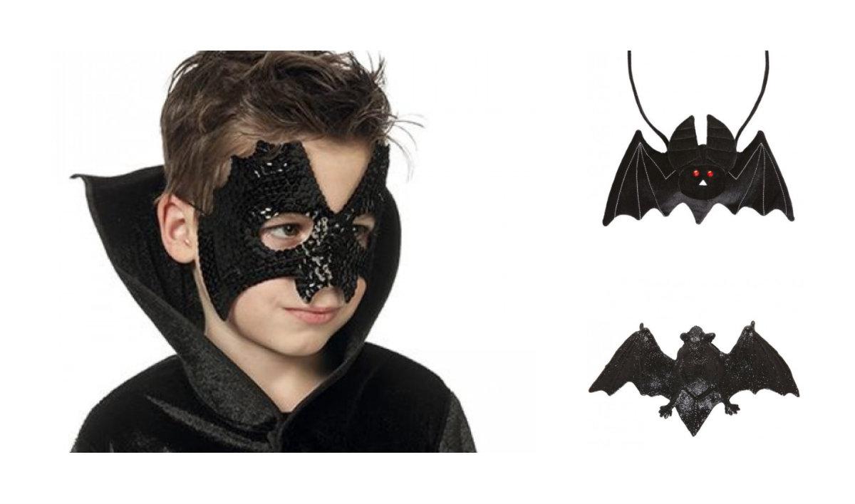 collage 2 - Flagermus kostume til børn