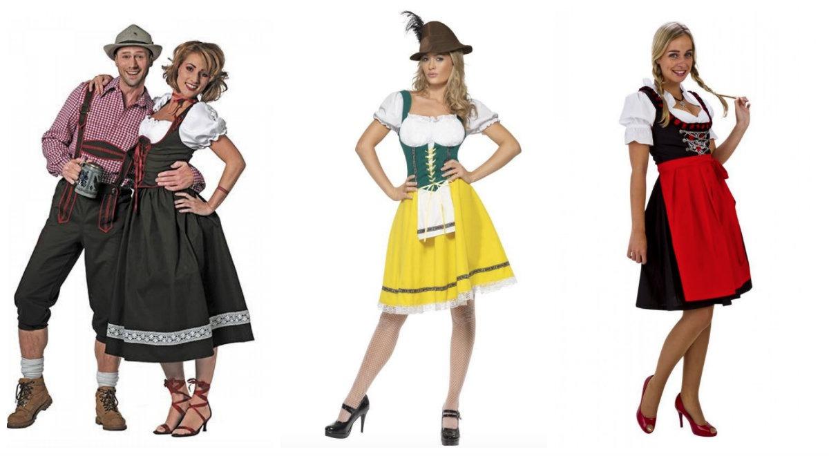 caff153473c Tyroler kostume til kvinder