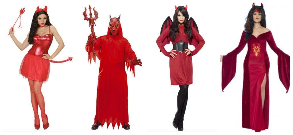 collage 30 1024x471 - Djævel kostume til voksne