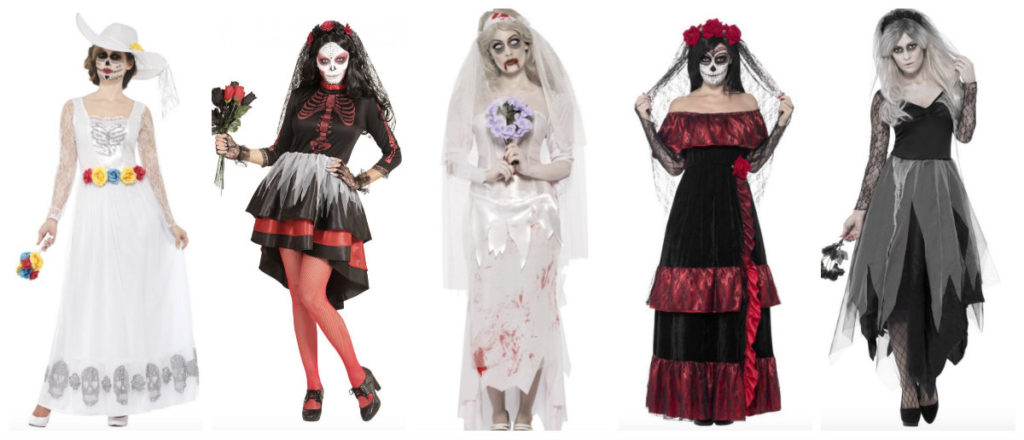 collage 33 1024x440 - Dødens brud kostume til voksne