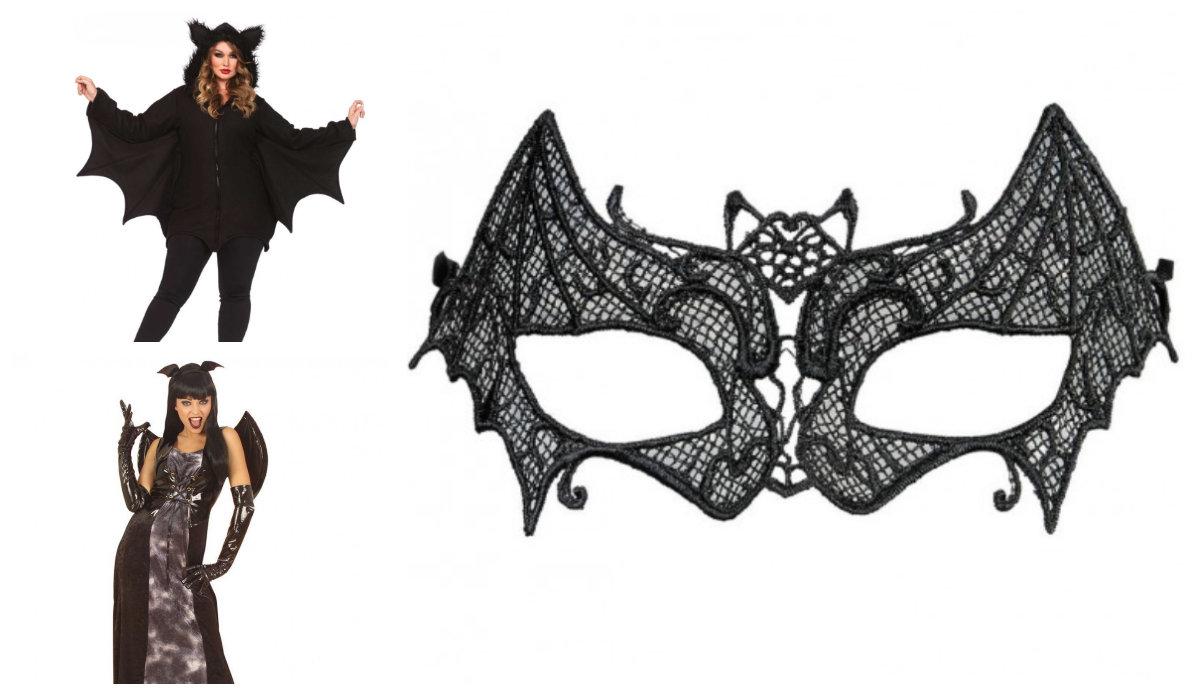 halloween kostume flagermus