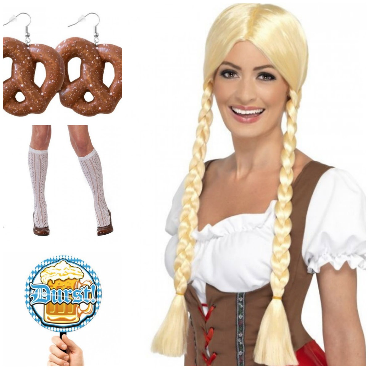 collage 9 - Oktoberfest kostume til kvinder