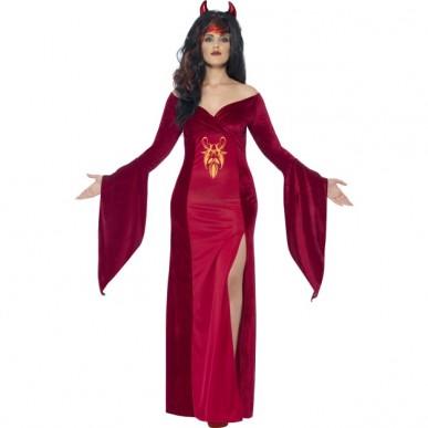 djævel kostume til voksne djævel udklædning til kvinder halloween kostume til kvinder