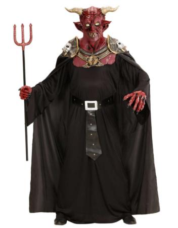 djævel kostume til voksne luksus hallowen kostume til mand djævlekostume udklædning som djævel rødt kostume