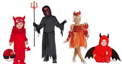 djævlekostume til børn djævel børnekostume djævel kostume barn 390x205 - Djævel kostume til børn og baby
