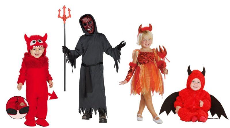 djævlekostume til børn djævel børnekostume djævel kostume barn 800x445 - Djævel kostume til børn og baby