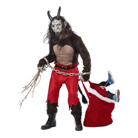 juledæmon kostume djævel kostume