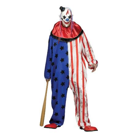 morderklovn kostume til voksne