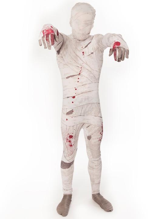 mumie kostume til børn mumiekostume til børn halloween udklædning mumie