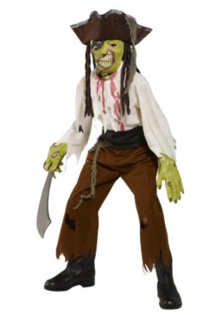 pirat monster halloween kostume til børn