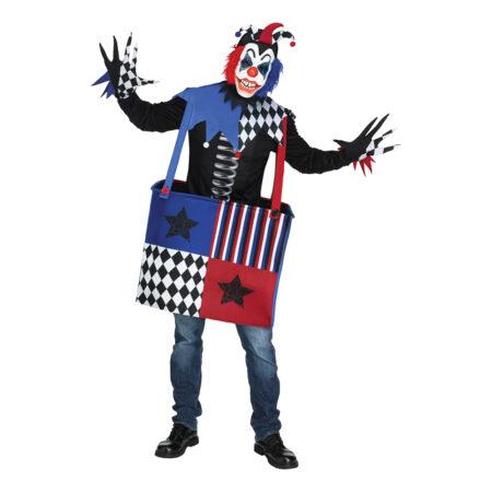 trold i æske kostume halloween kostume