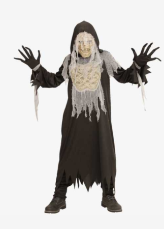 uhyggelig mumie kostume til børn