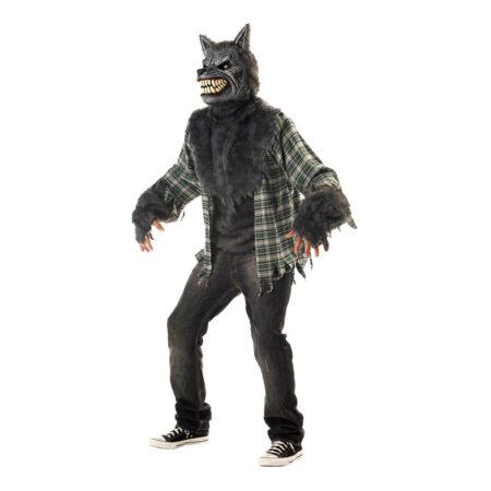 uhyggeligt halloween kostume varulv udklædning varulv maske