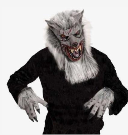 varulv udklædning varulv maske halloween maske til voksne