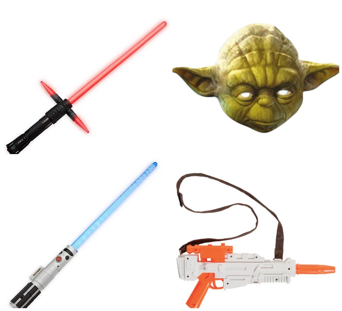 collage - Star Wars kostume til børn