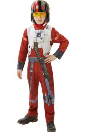 star wars poe x wing fighter kostume til børn 289x450 - Star Wars kostume til børn