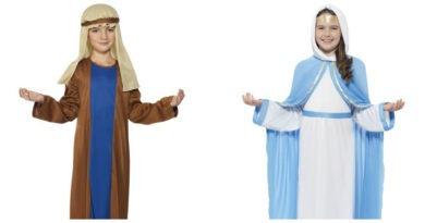 Josef kostume til børn Josef børnekostume Josef udklædning krybbespil julefest