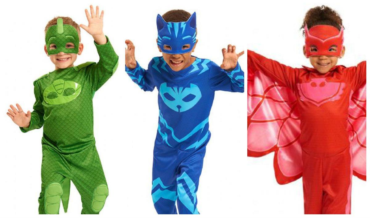 5c41a331f40 PJ Masks Pyjamasheltene kostume til børn PJ Masks Pyjamasheltene udklædning  PJ Masks Pyjamasheltene fastelavnskostume PJ Masks