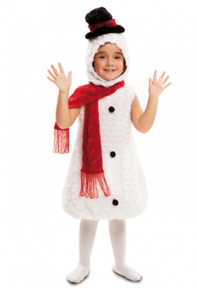 Snemand børnekostume 688x1024 - Snemand kostume til børn