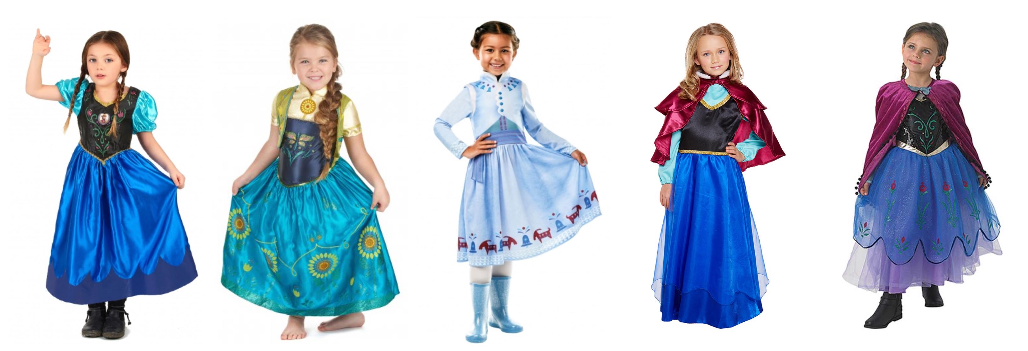anna kostume til børn - Frost Anna kostume til børn