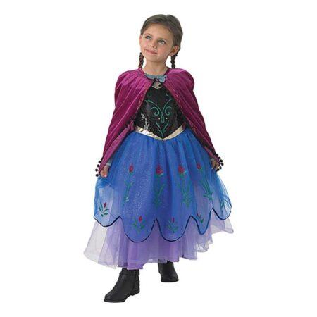 anna luksus børnekostume 450x450 - Frost Anna kostume til børn