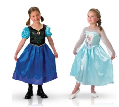 anna og elsa parkostume frost 450x407 - Frost Anna kostume til børn