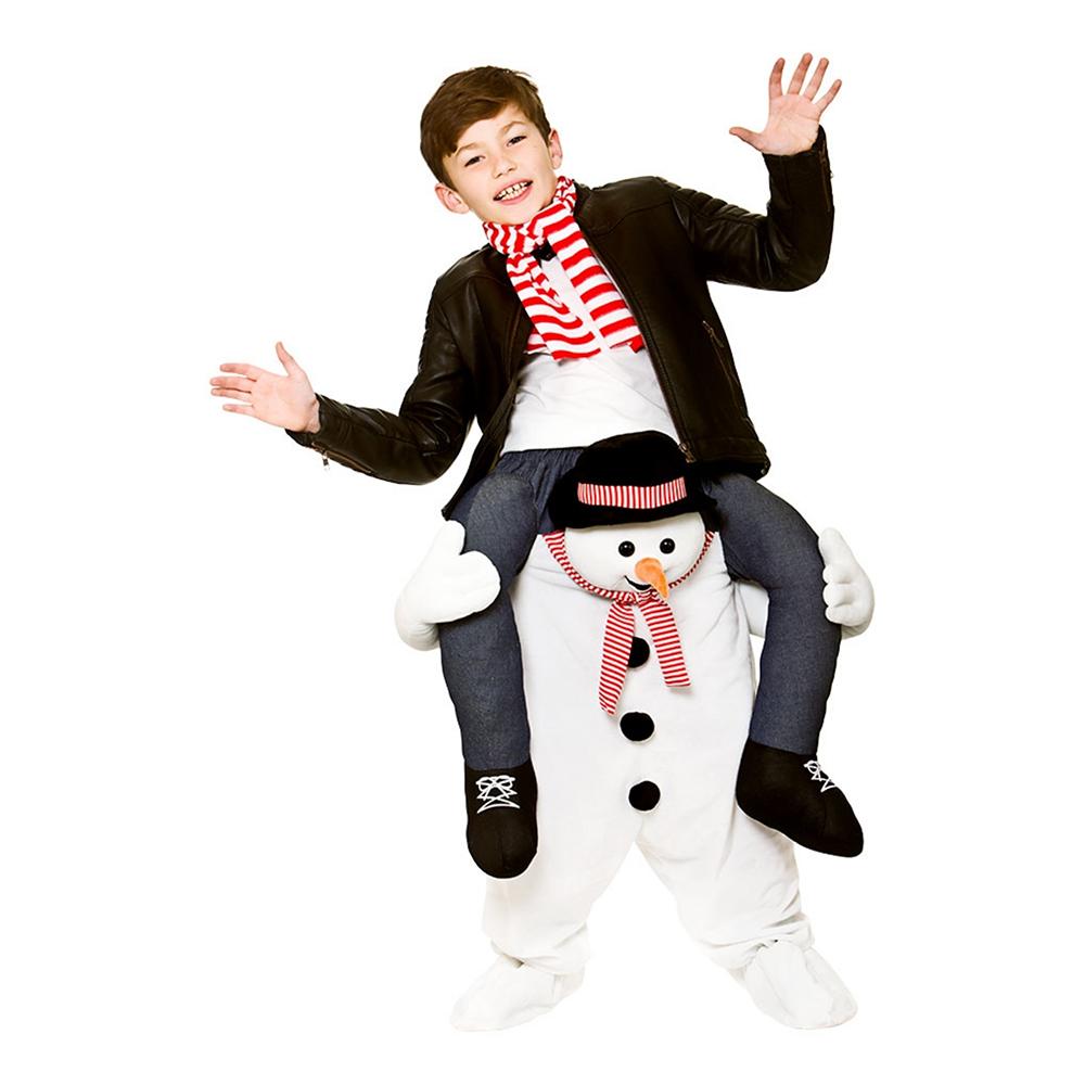 carry me snemand kostume til børn - Snemand kostume til børn