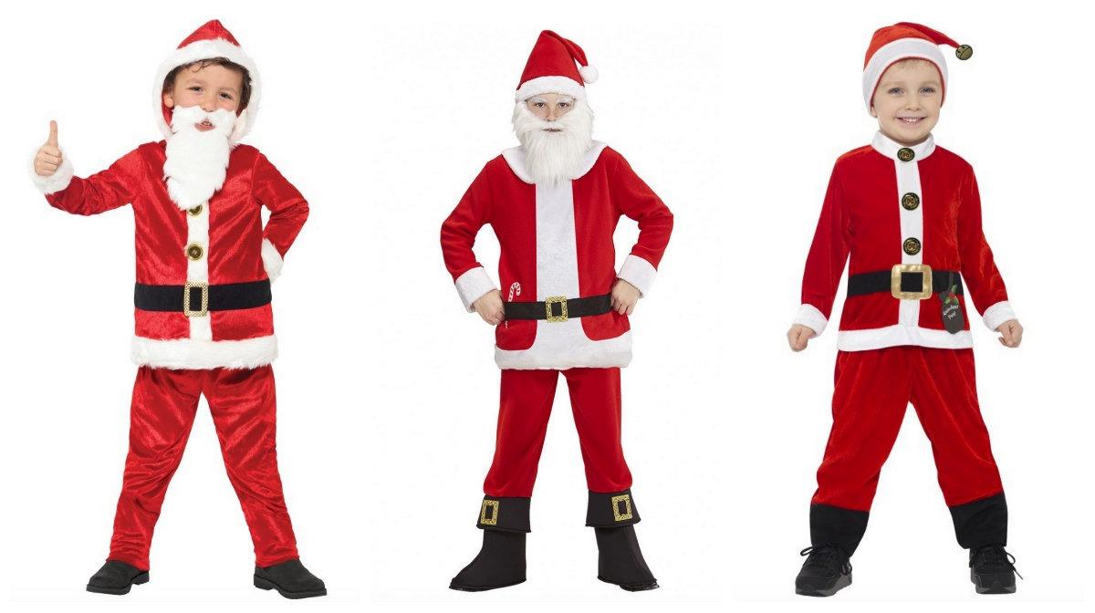 julemands dragt til børn