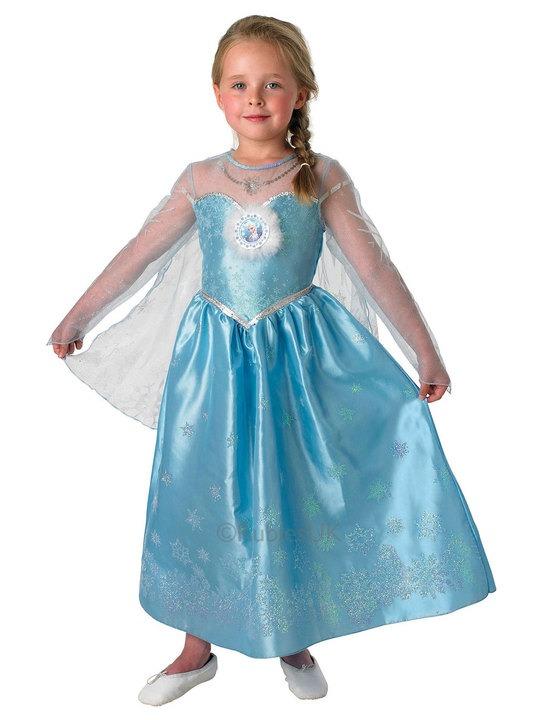 elsa deluxe kostume til elsaprinsesser elsa kostume til børn