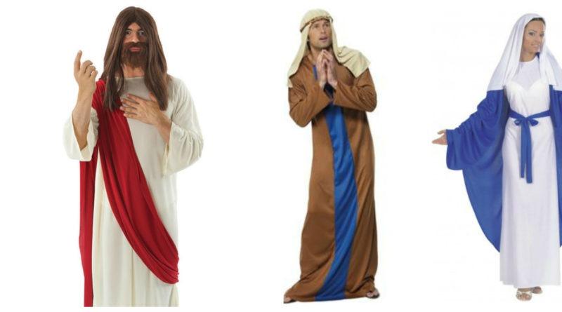 jomfru maria kostume til voksne jesus kostume til voksne josef kostume til voksne 800x445 - Jomfru Maria, Josef og Jesus kostume til voksne