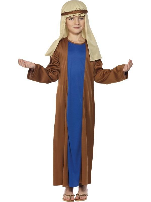 josef kostume til børn josef børnekostume josef tøj krybbespil