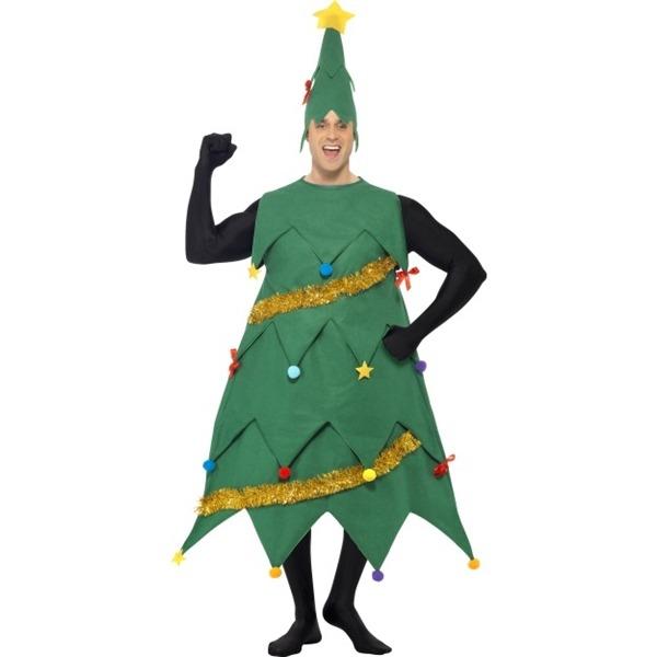 juletræ kostume til voksne juletræskostume til voksne juletræ udklædning mænd festlig julefrost udklædning