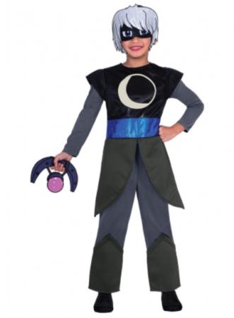 månepige kostume PJ masks kostume pyjamasheltene kostume til piger