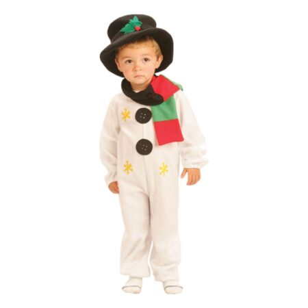 snemand kostume til barn snemand børnekostume