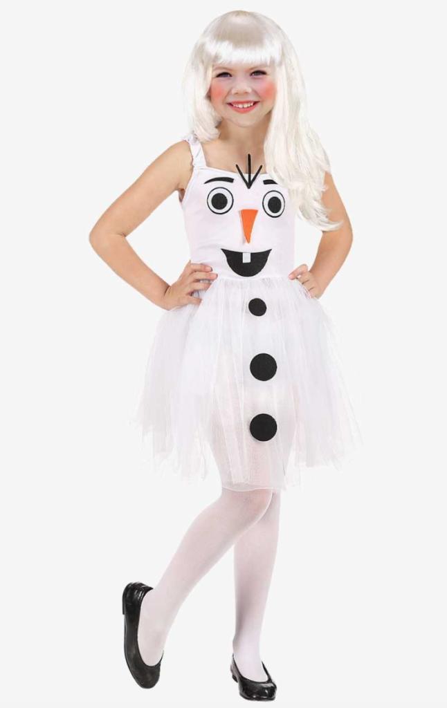 snemand kostume til piger 646x1024 - Snemand kostume til børn