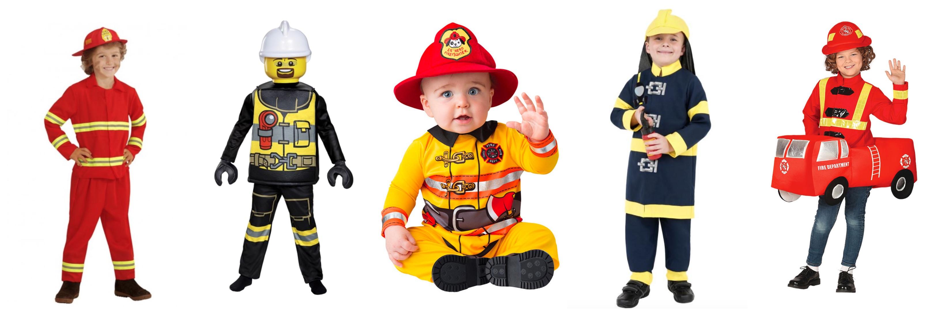 brandmand kostume til børn - KostumeUniverset